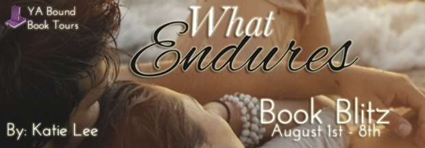 What Endures Book Blitz Banner