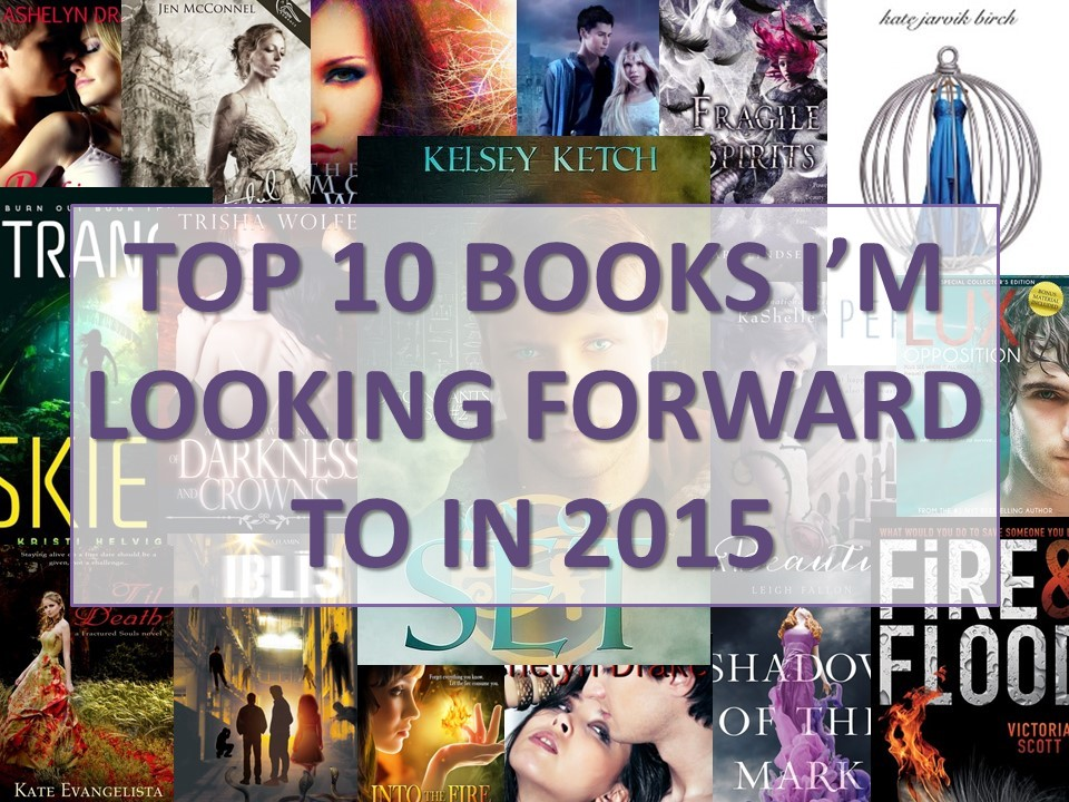 Books I'm Looking Forward to in 2015 (1/6)